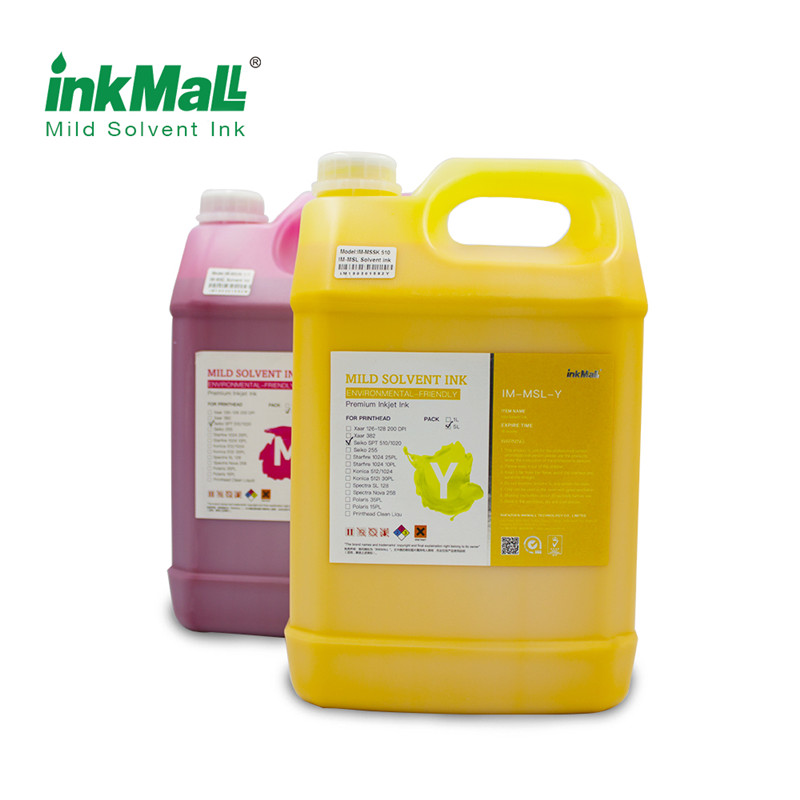 InkMall 精工溶剂墨水适用于挑战者/ 极限/ 飞腾喷绘机