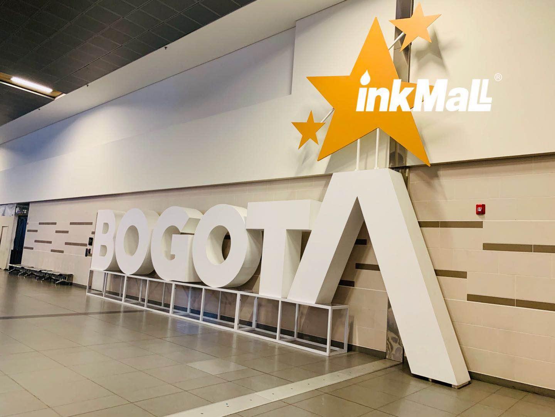 2019哥伦比亚-波哥大 InkMall六月南美Andigrafica广告展